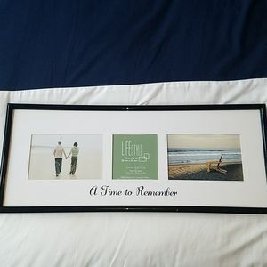Other - Three photo picture frame